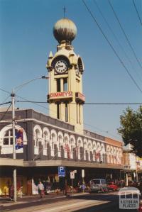 Swan Street, Richmond, 2001