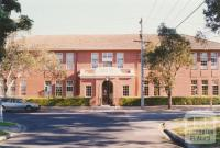 Ivanhoe East primary school, 2001