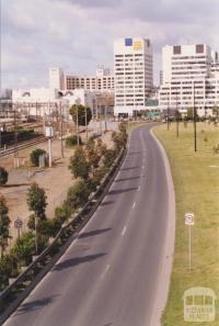 Batman's Hill survey mark, Collins Street, Melbourne, 2001