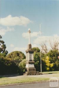 Heyfield Memorial, 2002
