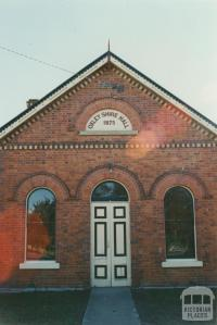 Oxley Shire Hall, 2002
