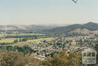Myrtleford from Reform Hill, 2002