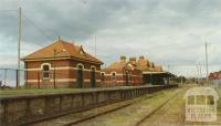 Korumburra Railway Station, 2002