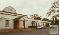 Mechanics' Institute, Hamilton Street (former shire office far right), 2002