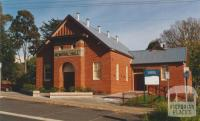 Templestowe Hall, Anderson Street, 2002