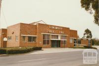 Longwarry public hall, 2002