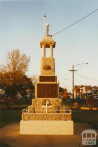 Nagambie memorial, 2002