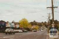 Syndal, Blackburn Road looking south, 2002