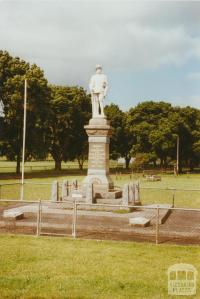 Byaduk War Memorial, 2002