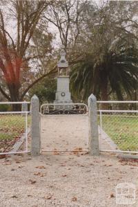 Murchison Memorial, 2004