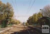 North Port tram stop looking south west, Port Melbourne, 2004