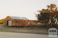 Woomelang shearing shed near Cronomby Tanks, 2005