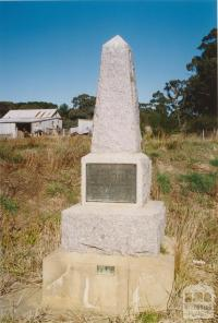 Broomfield, Spring Hill alluvial leads monument, 2005