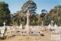 Eganstown cemetery, 2005