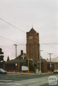 Anglican Church, Melville Road and Victoria Street, Brunswick West, 2005