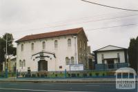 Monte Lauro Social Club, formerly Brunswick West Progress Association Hall, 2005