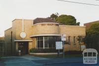 Baby Health Centre, 324 Lygon Street, Brunswick East, 2005