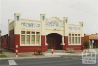 Somerville Mechanics' Institute, 2005