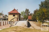 Koondrook old railway station, 2007