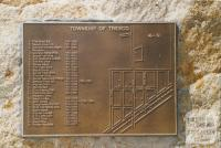 Tresco township plaque, 2007
