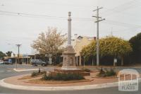 Memorial, Oke Street, Ouyen, 2007