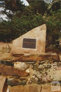 Berringa Miners Avenue plaque, 2008