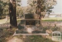 Alma cemetery plaque, 2008