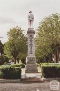 War memorial, Edenhope, 2008