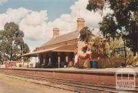 Maldon railway station, 2009