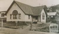 Yallourn house, 1926