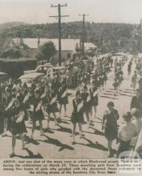 Blackwood celebrations, 1961