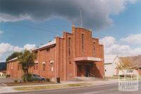 Trafalgar hall and Uniting Church hall, 2010