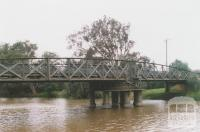 Swing bridge, Latrobe River, Sale, 2010