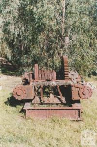 Old timber mill machinery, Goongerah, 2010