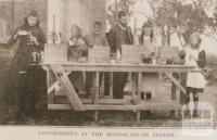 Experiments at Bundalaguah school, 1909