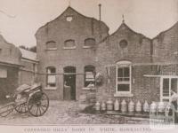 Cotswold Hills dairy, Hawksburn, 1911