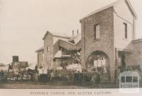 Boisdale cheese and butter factory, 1912
