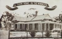 Mr T Moller's house, Dimboola, 1920