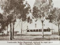Mr J Kennedy's homestead, Beulah, 1922