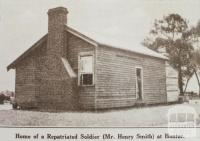 Repatriated soldier's home, near Elmore, Huntly shire, 1923