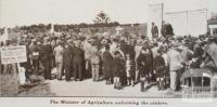 Werribee research farm, farmers' field day, 1933