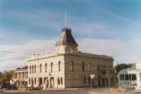 Creswick Town Hall, Hepburn Shire offices on left, 2010