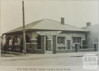 New Baby Health Centre, Church Street South, Richmond, 1928