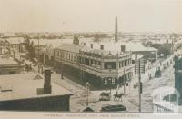 Footscray, north-west view from Hopkins Street, 1917