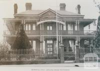 Memorial hall, Geelong Road, Footscray, 1922
