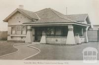 Yarraville Baby Welfare Centre, Footscray, 1928