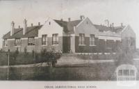 Colac Agricultural High School, Colac, 1937