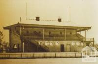 Grandstand Toorak Park, Armadale, 1910