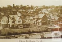 Private residences, Toorak, 1911