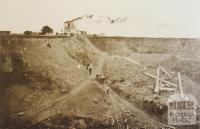 Prahran Council quarry, Brooklyn, 1912